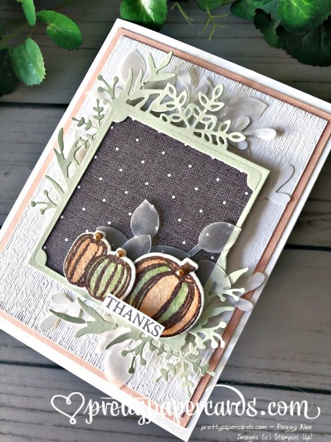 Stampin' Up! Gather Together Card - Peggy Noe - stampinup