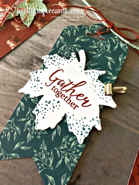 Stampin' Up! Gather Together Fall Banner - Pretty Paper Cards - stampinup