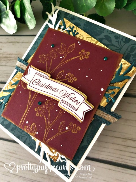 Stampin' Up! Toile Christmas Wishes by Peggy Noe - stampinup