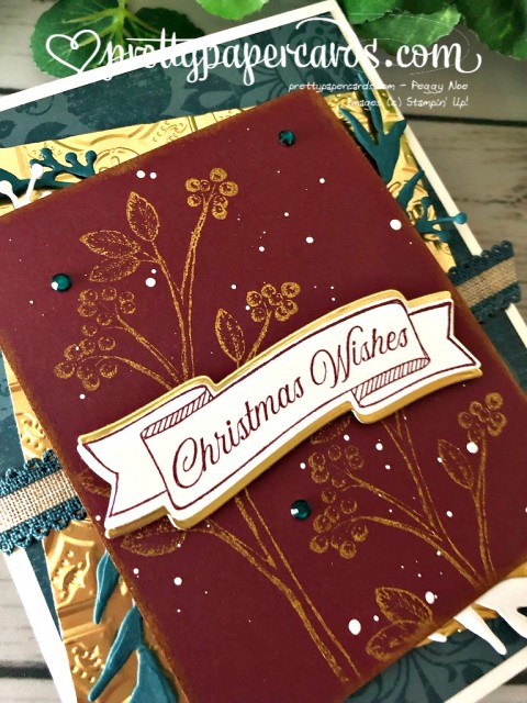 Stampin' Up! Toile Christmas by Pretty Paper Cards