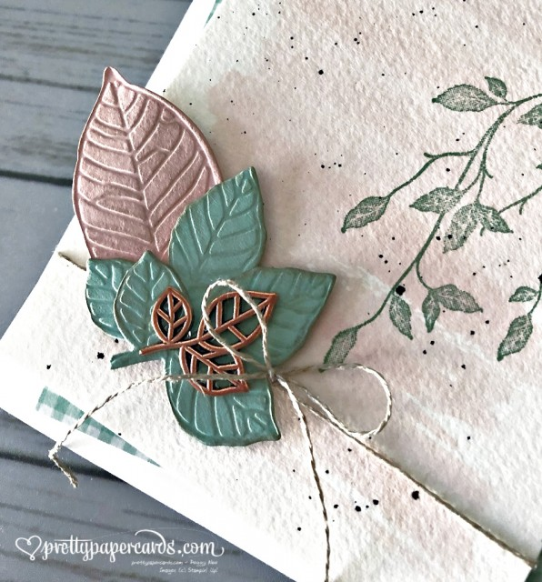 Stampin' Up! Very Versailles Fall Leaves - Peggy Noe - stampinup