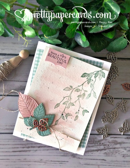 Stampin' Up! Very Versailles Fall Leaves - prettypapercards - stampinup
