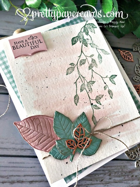 Stampin' Up! Very Versailles Fall - Peggy Noe - stampinup