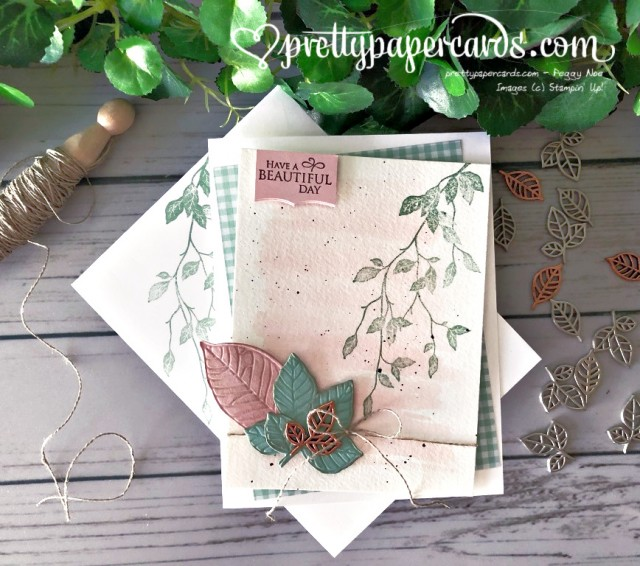 Stampin' Up! Very Versailles Leaves - prettypapercards - stampinup