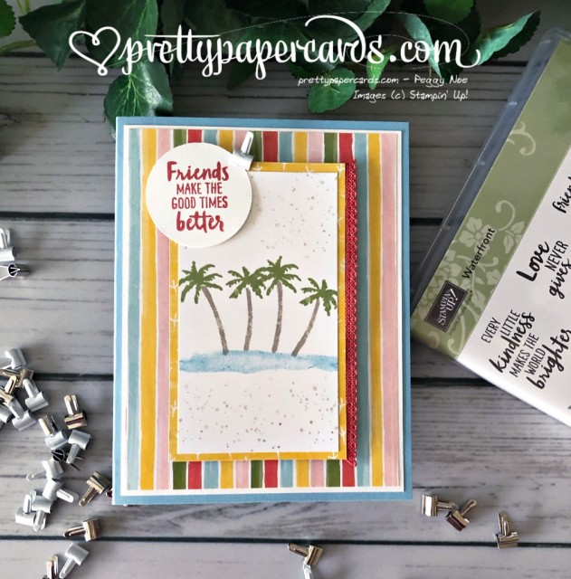 Stampin' Up! Waterfront - Peggy Noe - stampinup