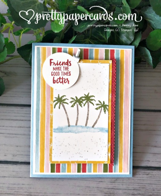 Stampin' Up! Waterfront - prettypapercards - stampinup