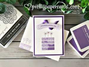 Stampin' Up! Wish for it All Birthday - prettypapercards - stampinup