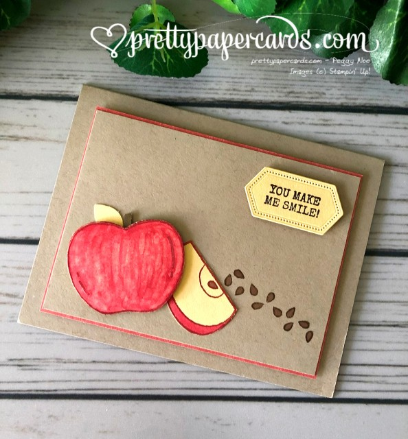 Stampin' Up! Apple Harvest Hellos - Pretty Paper Cards - stampinup