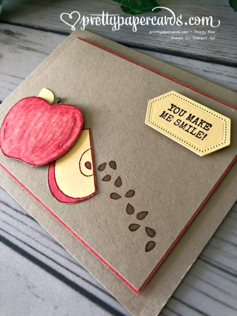 Stampin' Up! Apple Seeds Harvest Hellos - Peggy Noe - stampinup