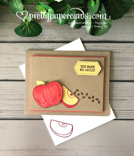 Stampin' Up! Apple Seeds Harvest Hellos - Pretty Paper Cards - stampinup
