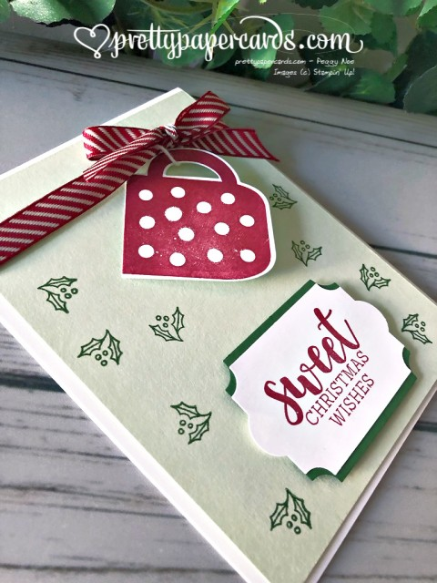 Stampin' Up! Cup of Christmas Card - Pretty Paper Cards - stampinup