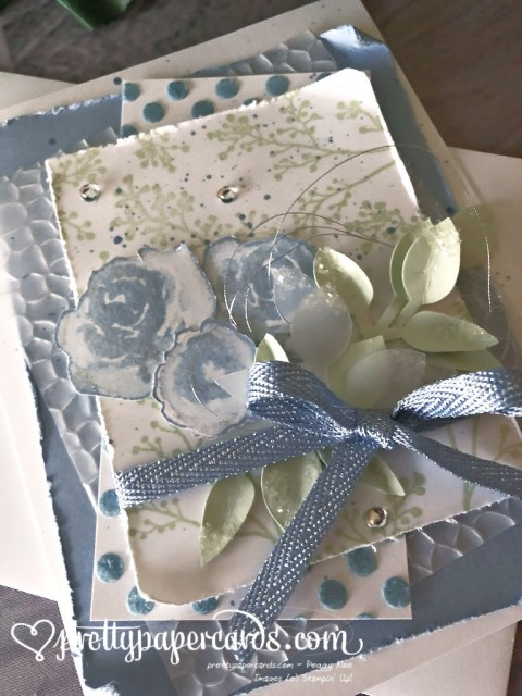 Stampin' Up! First Frost Card - Peggy Noe - stampinup