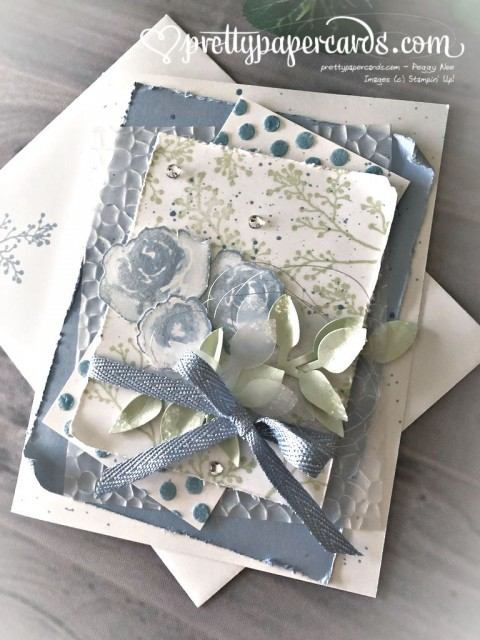 Stampin' Up! First Frost Card - Pretty Paper Cards - stampinup