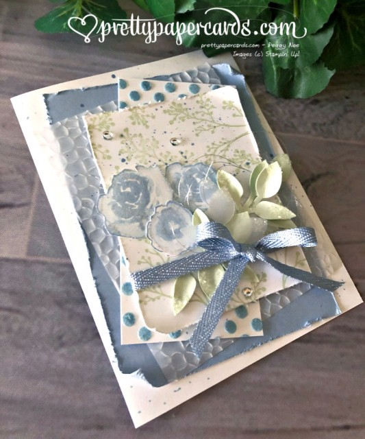 Stampin' Up! First Frost Winter - Pretty Paper Card - stampinup