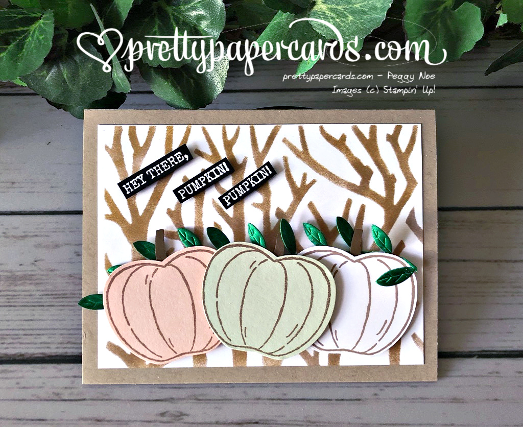 Hey There, Pumpkin Card!!