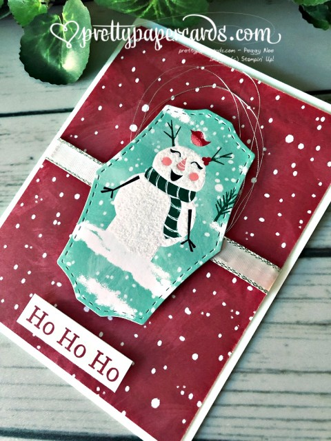 Stampin' Up! Let it Snow Card - Peggy Noe - stampinup
