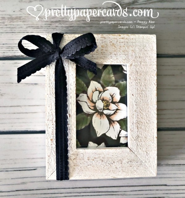 Stampin' Up! Magnolia Home Project - Peggy Noe - stampinup