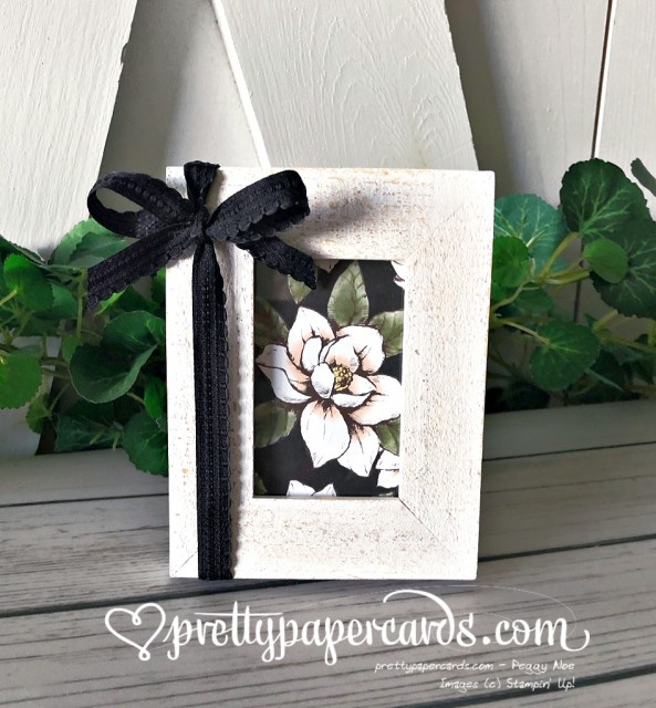 Stampin' Up! Magnolia Lane Home Project - Peggy Noe - stampinup