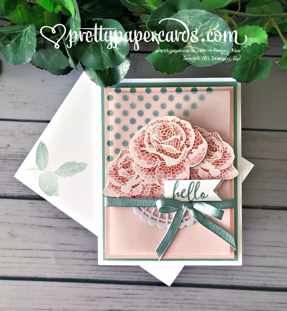NEW VIDEO: Create a Pretty Rose Card Using Decorative Masks!