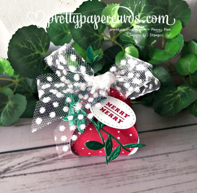 Stampin' Up! Mini Curvy Keepsake Merry - Peggy Noe - stampinup