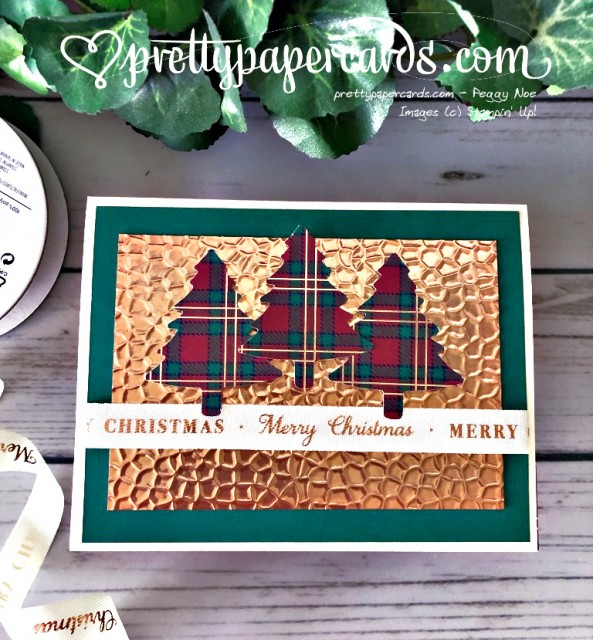 Stampin' Up! Perfectly Plaid - Peggy Noe - stampinup
