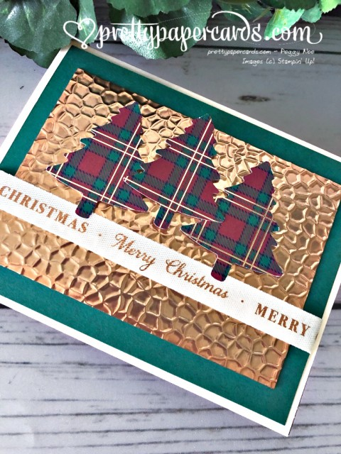 Stampin' Up! Plaid Christmas - Pretty Paper Cards - stampinup