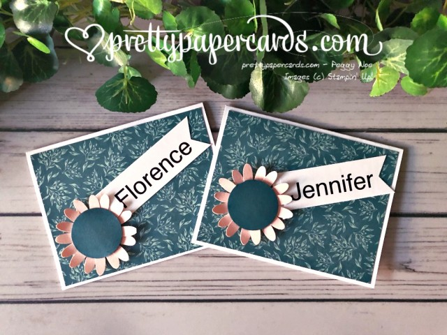 Stampin' Up! Pretty Peacock Sunflowers - Pretty Paper Cards - stampinup