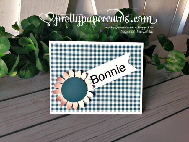 Stampin' Up! Sunflower Daisy Punch - Peggy Noe - stampinup