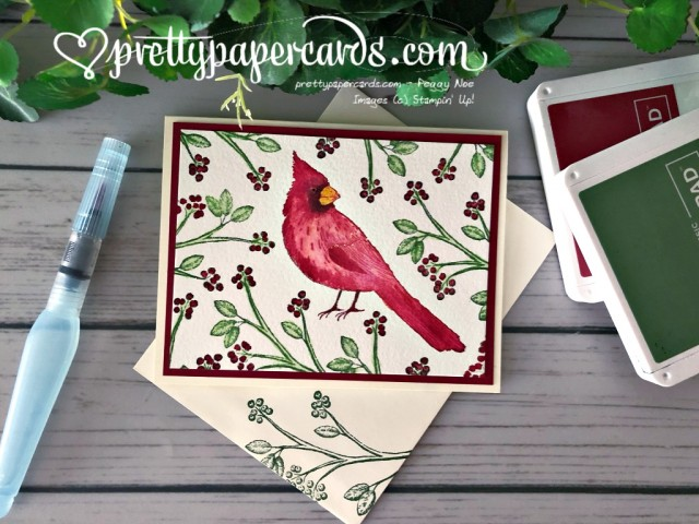 Stampin' Up! Toile Cardinal - Pretty Paper Cards - stampinup