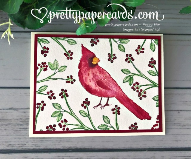 Stampin' Up! Toile Christmas - Peggy Noe - stampinup