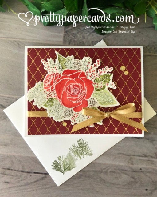 Stampin' Up! Christmastime - Pretty Paper Cards - stampinup