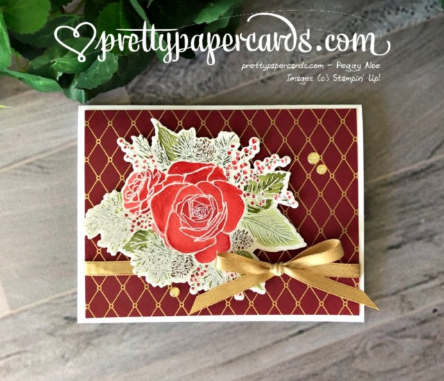 Stampin' Up! Christmastime is Here - Pretty Paper Cards - stampinup