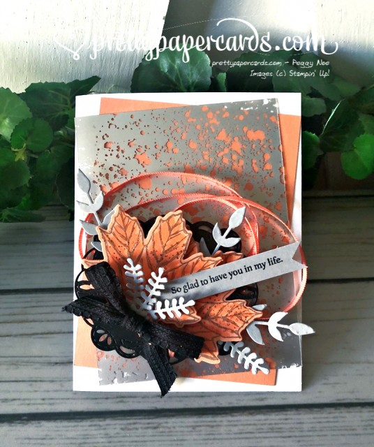 Stampin' Up! Fall Mercury Card - Peggy Noe - stampinup