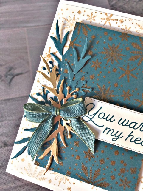 Stampin' Up! Frosted Foliage Holiday - Peggy Noe - stampinup