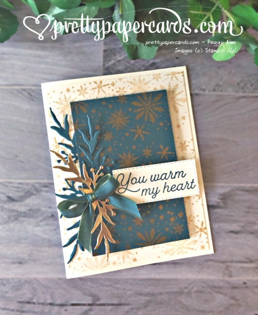 Stampin' Up! Frosted Foliage - Peggy Noe - stampinup