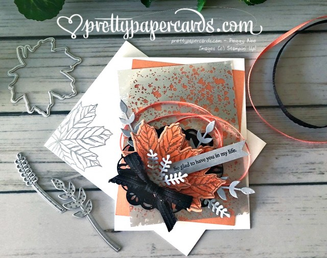 Stampin' Up! Mercury Fall Card - Pretty Paper Cards - stampinup