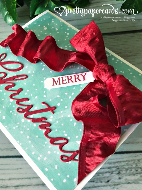 Stampin' Up! Merry Christmas - Peggy Noe - stampinup