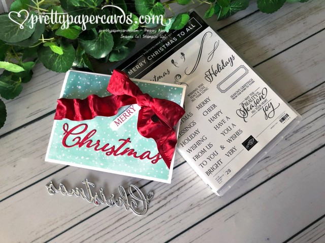 Stampin' Up! Merry Christmas to All - Peggy Noe -stampinup