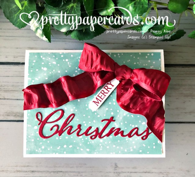 Stampin' Up! Merry Christmas to All - Pretty Paper Cards - stampinup