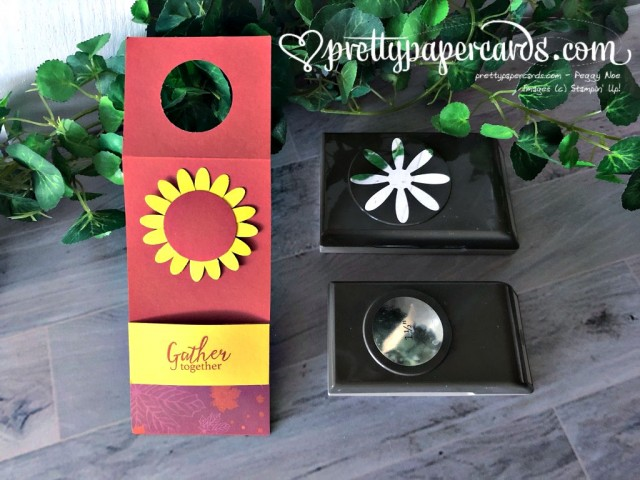 Stampin' Up! Sunflower Water Bottle Cover - Peggy Noe - stampinup