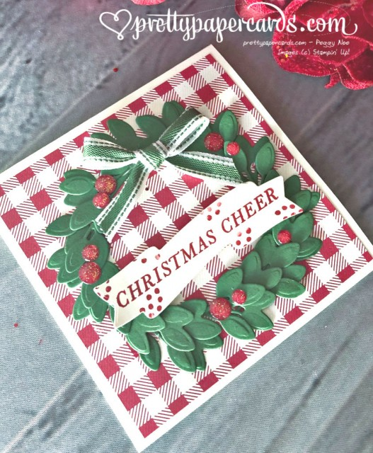 Stampin' Up! Tidings All Around Card - Pretty Paper Cards - stampinup