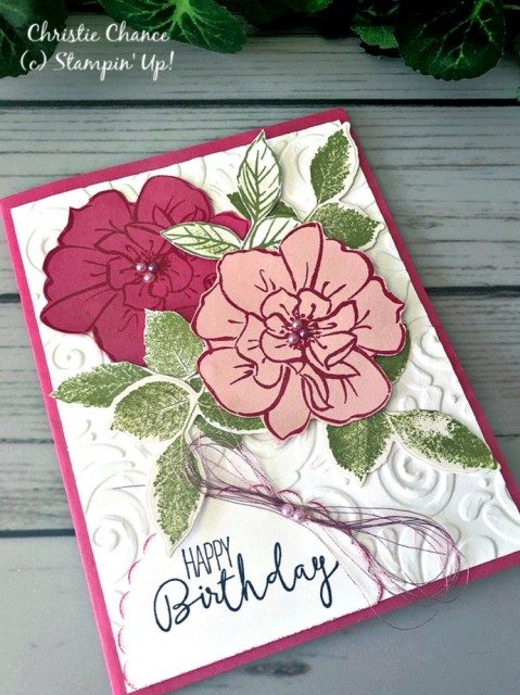 Stampin' Up! To a Wild Rose - Peggy Noe - stampinup (new)