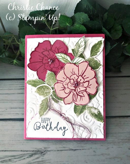 Stampin' Up! To a Wild Rose - Pretty Paper Cards - stampinup