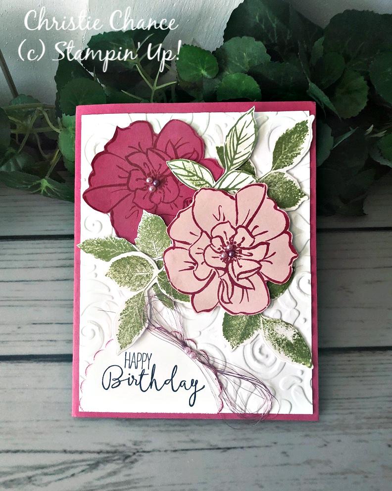 Guest Designer: To a Wild Rose Birthday!