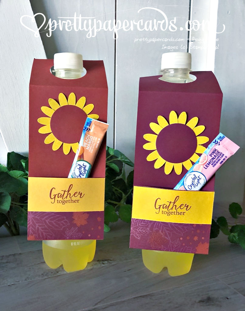 Fall Sunflower Water Bottle Covers!