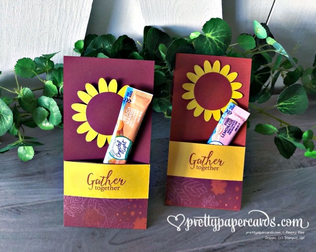 Stampin' Up! Water Bottle Cover - Pretty Paper Cards - stampinup