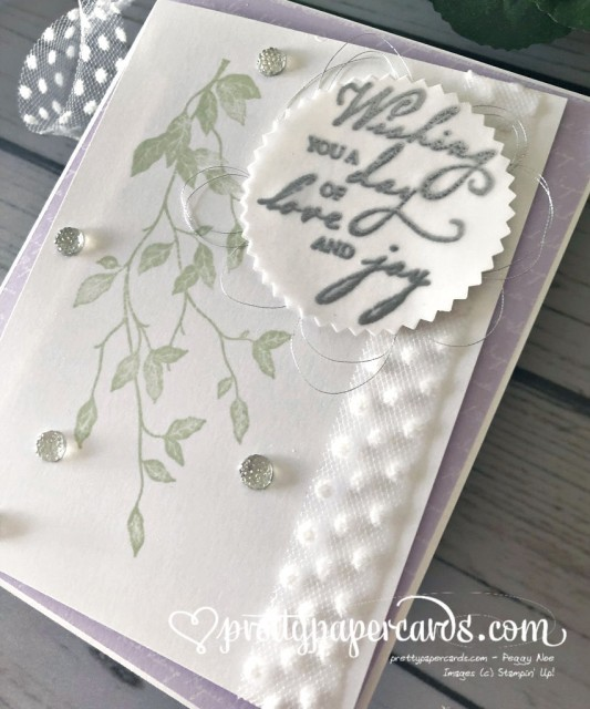 Stampin' Up! Woven Threads Wedding - Pretty Paper Cards - stampinup