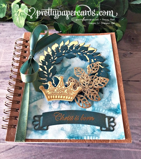 Stampin' Up! Advent Wreath Journal - Peggy Noe- stampinup
