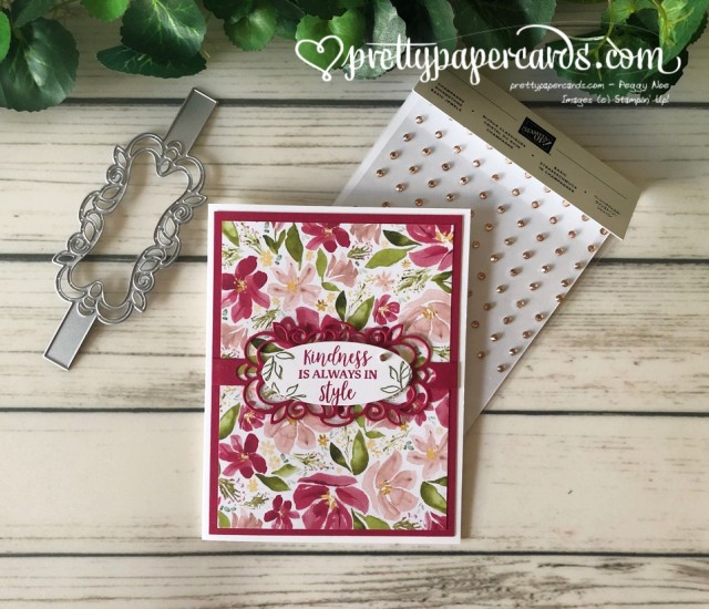 Stampin' Up! Best Dressed Card - Pretty Paper Cards - stampinup