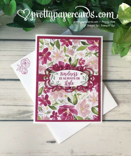 Stampin' Up! Best Dressed - Pretty Paper Cards - stampinup
